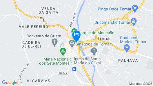 Hostel 2300 Thomar Map