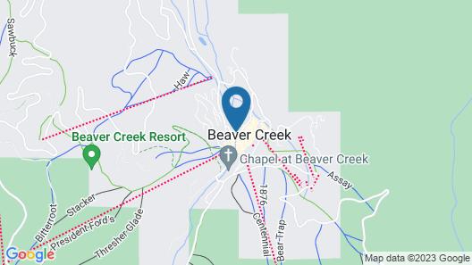 Poste Montane Lodge Map