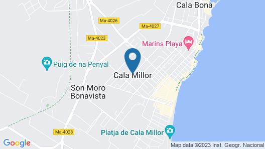 Apartamentos Cristina Map