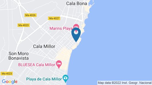 Caleia Talayot Spa Hotel Map
