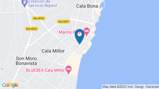 Hotel Blue Sea Don Jaime Map