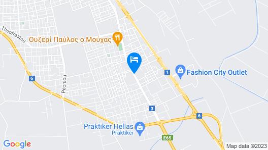 Grecotel Larissa Imperial Map