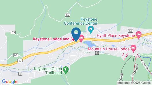 River Run Village by Keystone Resort Map