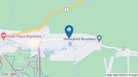 Ski Tip Lodge by Keystone Resort Map