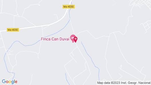 Finca Can Duvai Mallorca Map