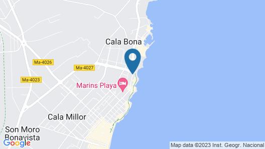 Sol y Mar Apartamentos Map