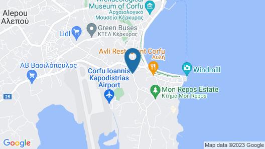 Moraitis Mansion Map