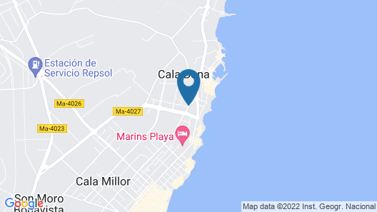 Hotel Globales Cala Bona Suites Map