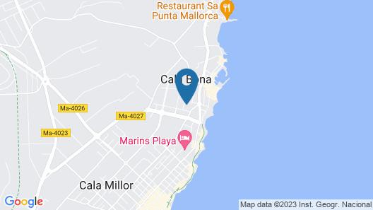 Villa SON Floriana Map