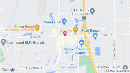 Red Carpet Inn and FantaSuite Hotel Map