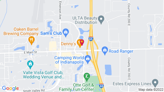 La Quinta Inn & Suites by Wyndham Indianapolis Greenwood Map