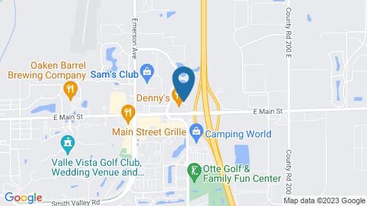 La Quinta Inn & Suites by Wyndham Indianapolis Greenwood Map