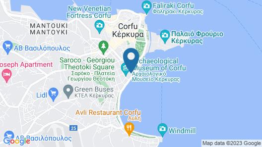 Corfu Palace Map