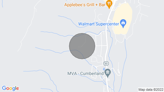 Cozy Cumberland Cabin in the Allegheny Mountains! Map