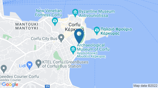 Cavalieri Hotel Map