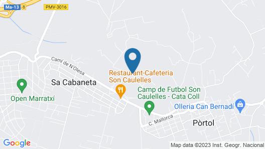 S'Hort de Son Caulelles - Adults Only Map