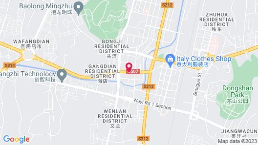 Jinjiang Inn Wafang Dian West Changchun Road Map