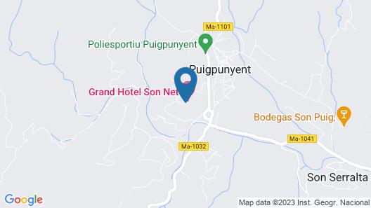 Gran Hotel Son Net Map