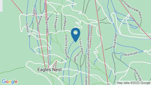 9 Vail Road 2 Bedroom Condo Map