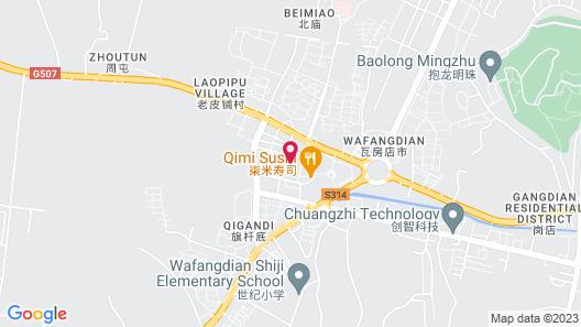 S&N Dalian Hotel Map