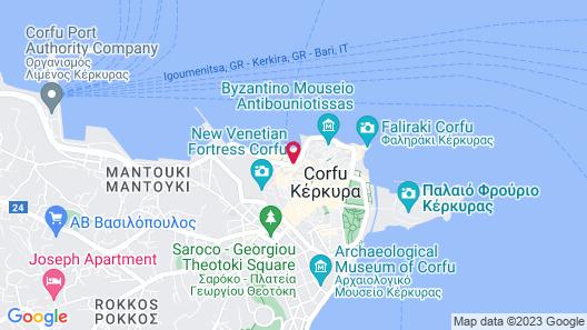 Konstantinoupolis Hotel Map