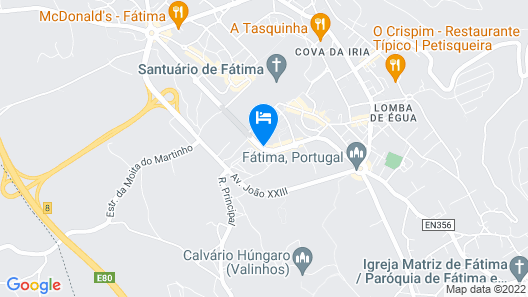 Lux Fátima Park - Hotel, Suites & Residence Map