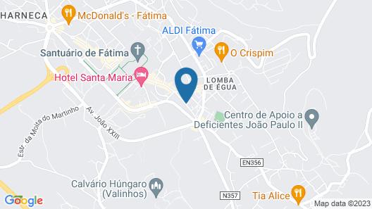 Ribeiro Hotel Map