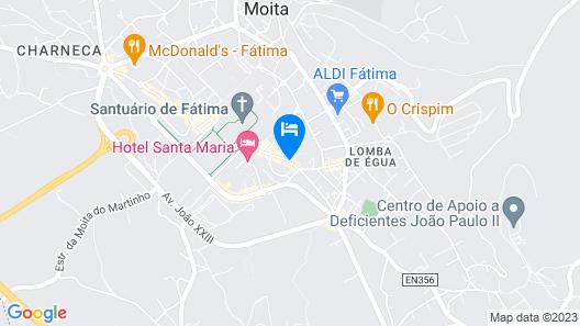 Hotel Serra D'Aire Map