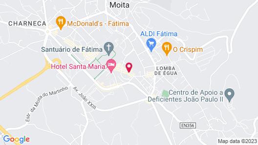 Consolata Hotel Map