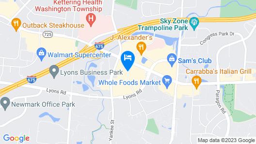 Fairfield Inn & Suites Dayton South Map