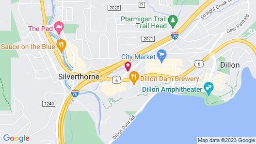 Super 8 by Wyndham Dillon/Breckenridge Area Map