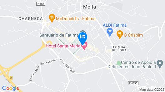 Hotel Estrela de Fatima Map