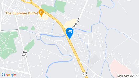 Super 8 by Wyndham Hagerstown Map