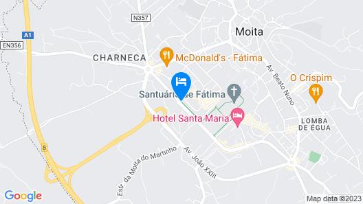 Hotel Sao Jose Map
