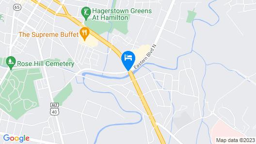 Days Inn by Wyndham Hagerstown Map