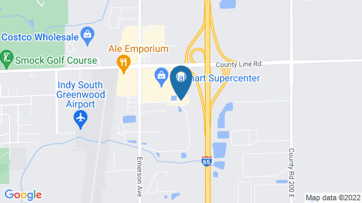 Holiday Inn Express Hotel & Suites Greenwood, an IHG Hotel Map