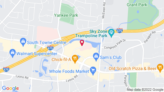 Holiday Inn Express Hotel & Suites Dayton South - I-675, an IHG Hotel Map