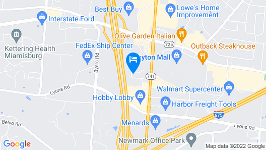 Homewood Suites by Hilton Dayton South Map