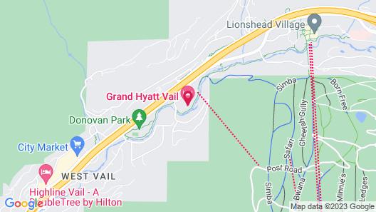 Grand Hyatt Vail Map