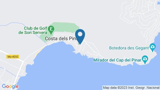 Hipotels Eurotel Punta Rotja & Spa Map