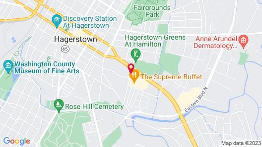 Baymont by Wyndham Hagerstown Map