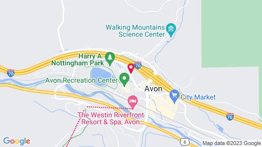 217 Avon - 3 Br Duplex Map