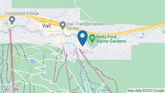 Manor Vail Lodge Map