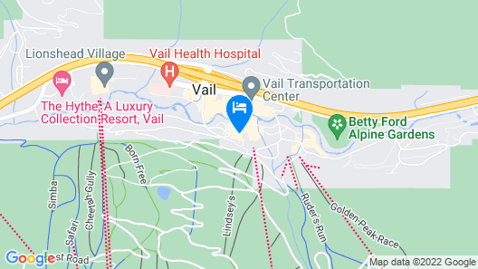 LAV Chalet #10 Map