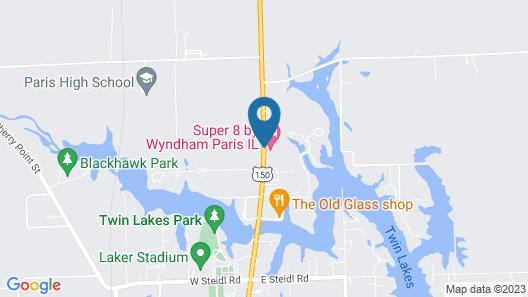 Super 8 by Wyndham Paris IL Map