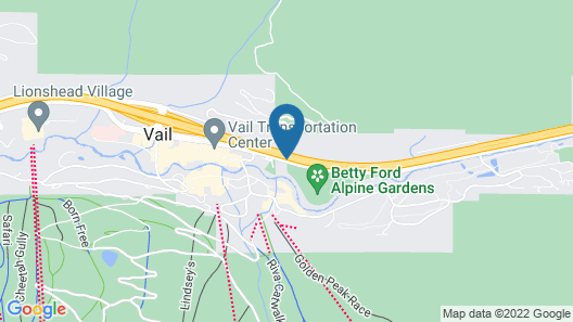The Wren at Vail Map