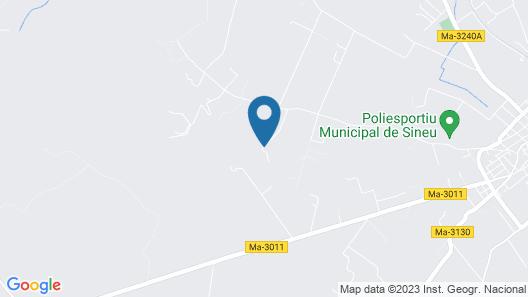 Villa Can Pedro Map