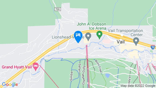 Antlers at Vail Map