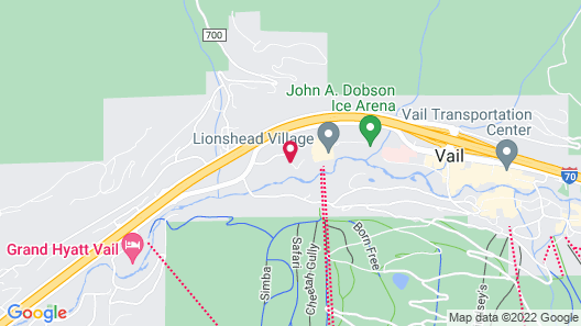 The Arrabelle at Vail Square, A RockResort Map