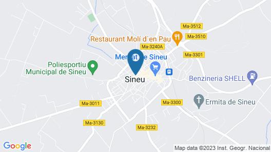Can Serrete Map